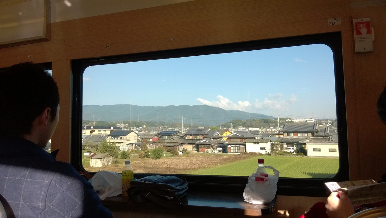 天空列車的欣賞視角