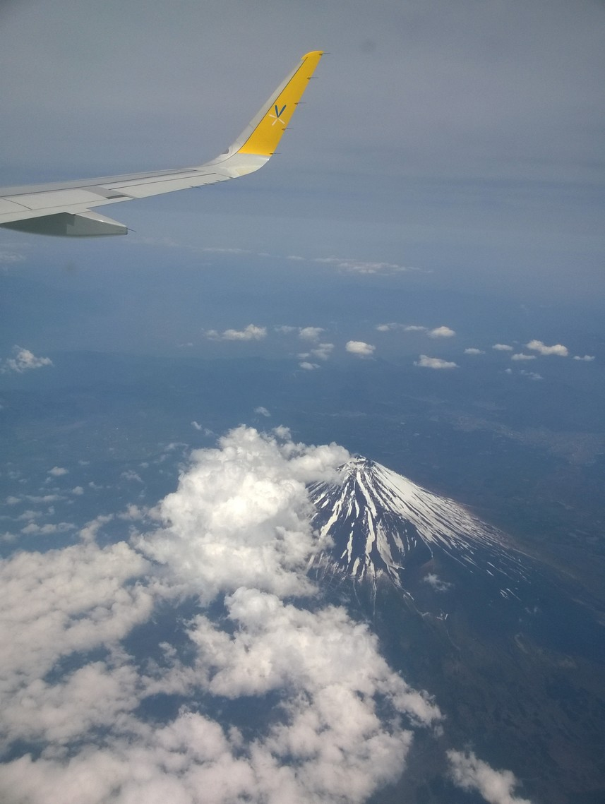 鳥瞰富士山