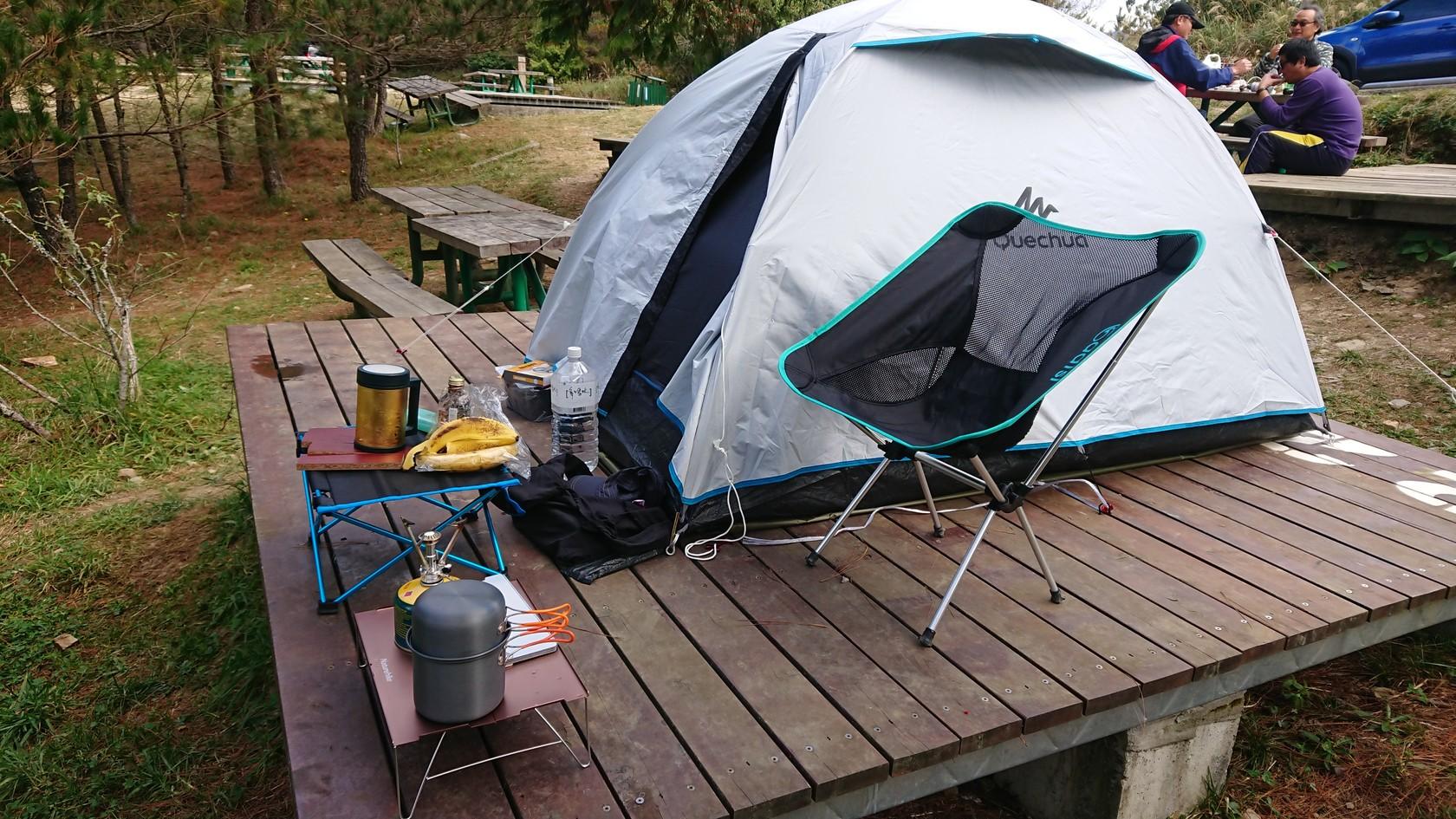 搭好露營裝備