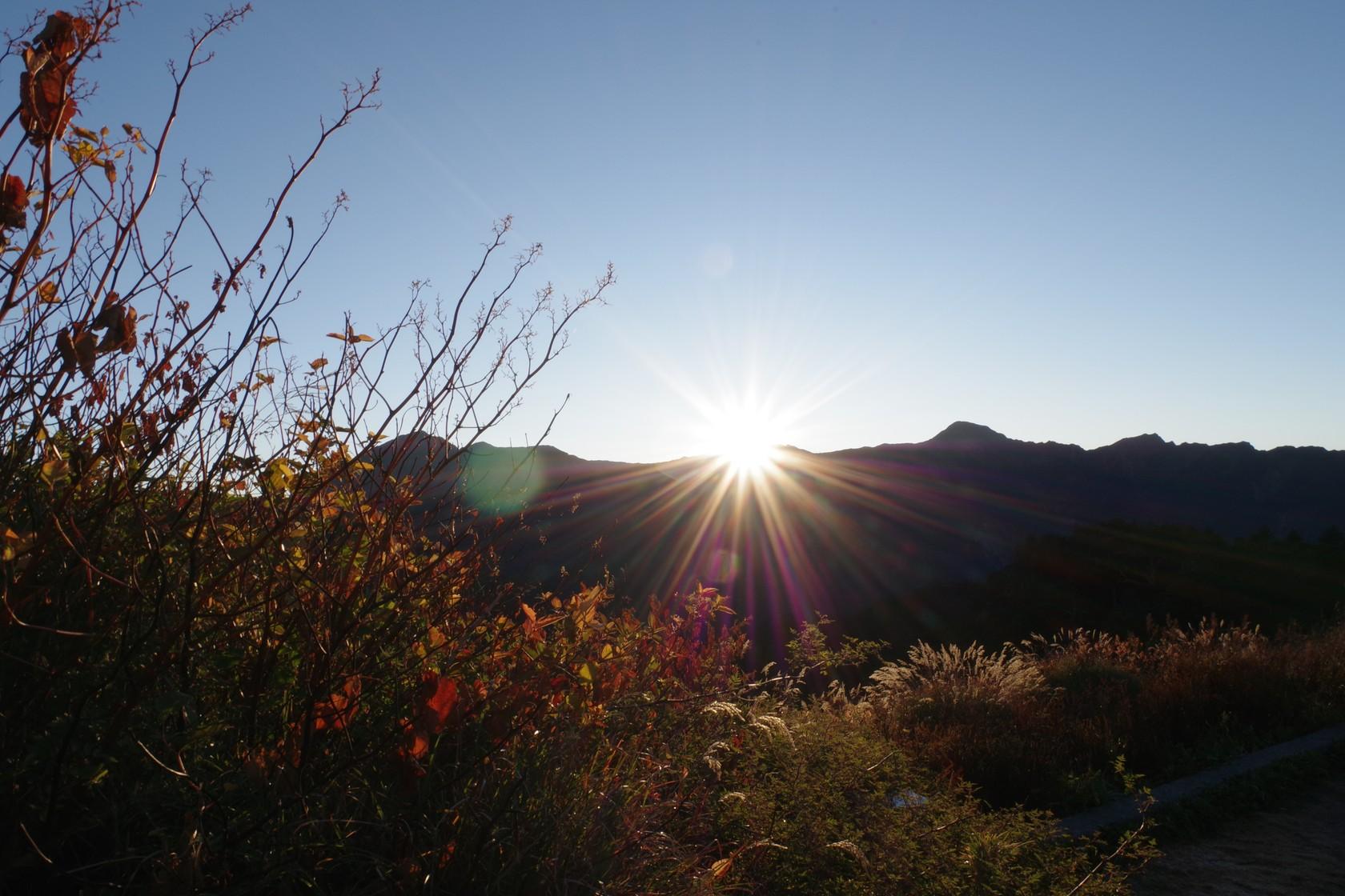 昆陽休息區日出