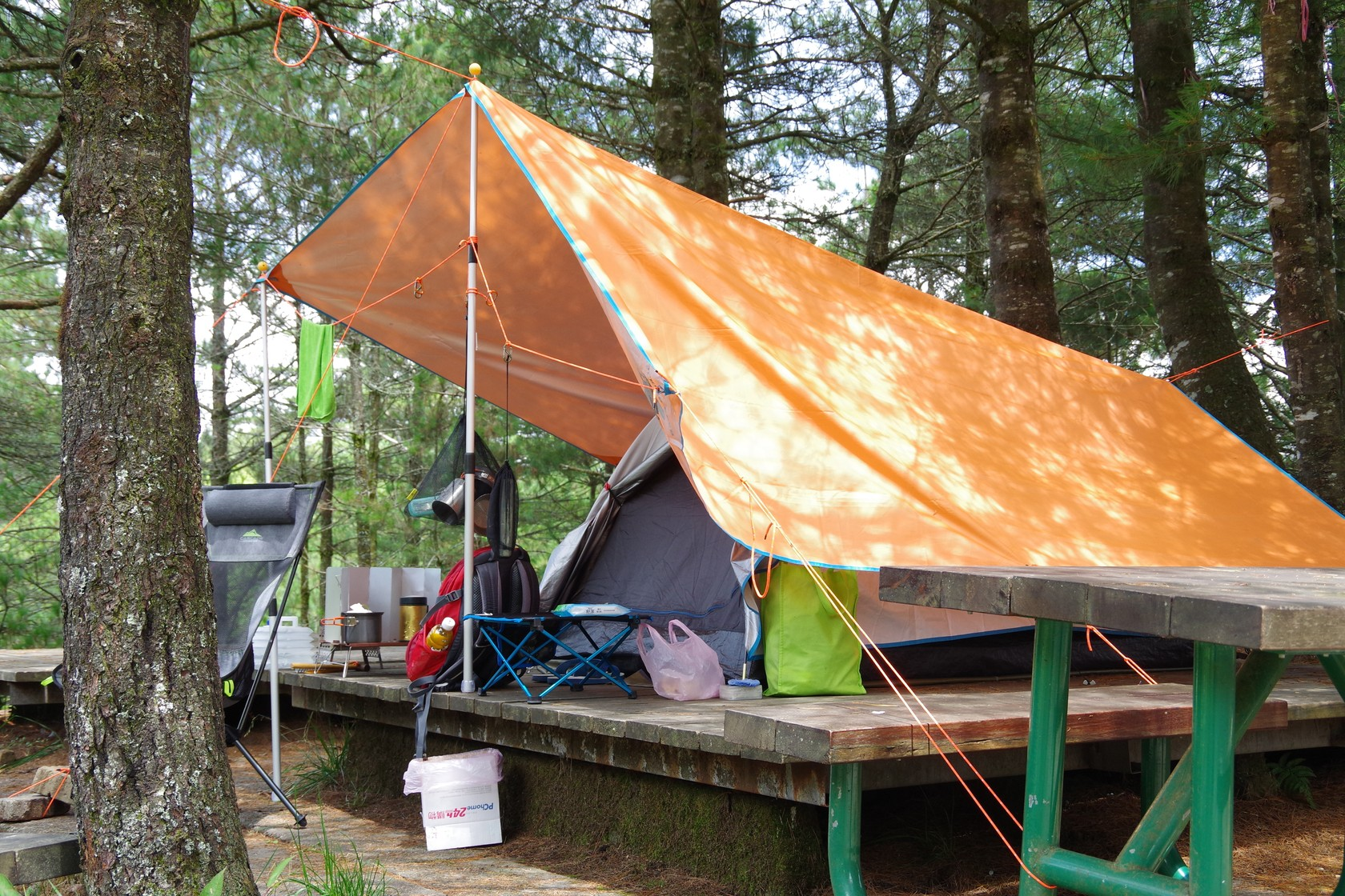 本次露營裝備