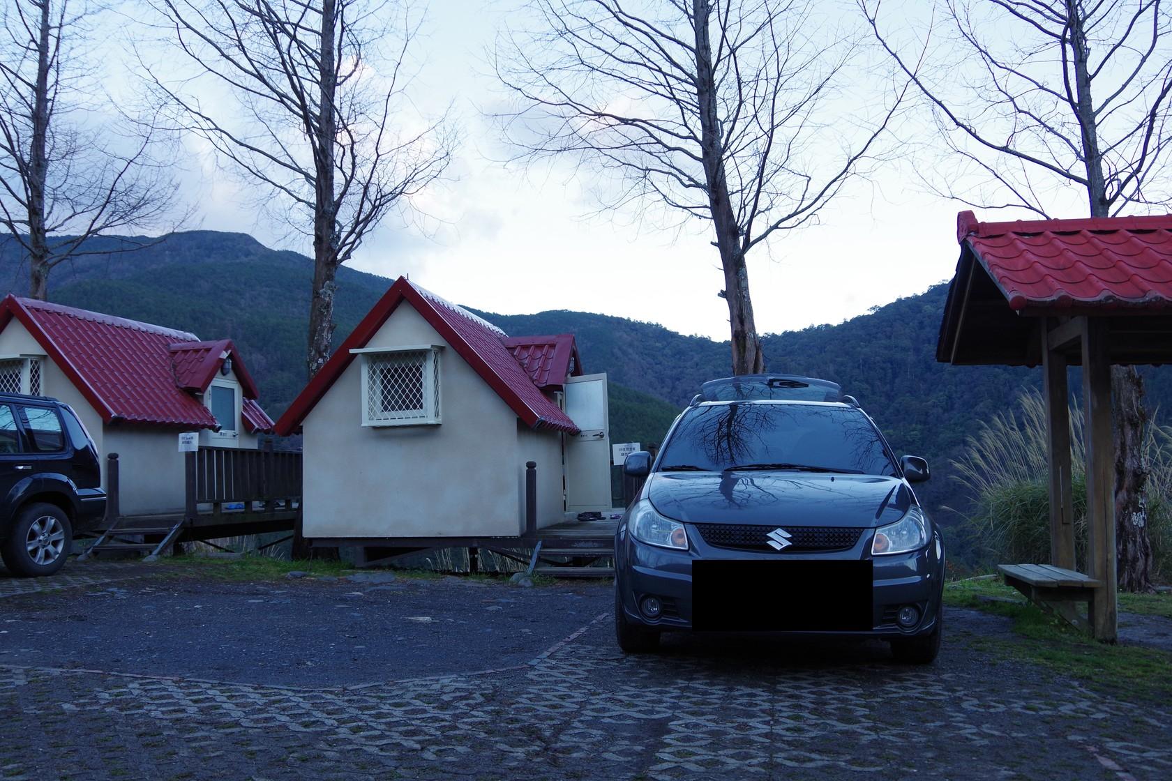 我們訂的露營景觀屋