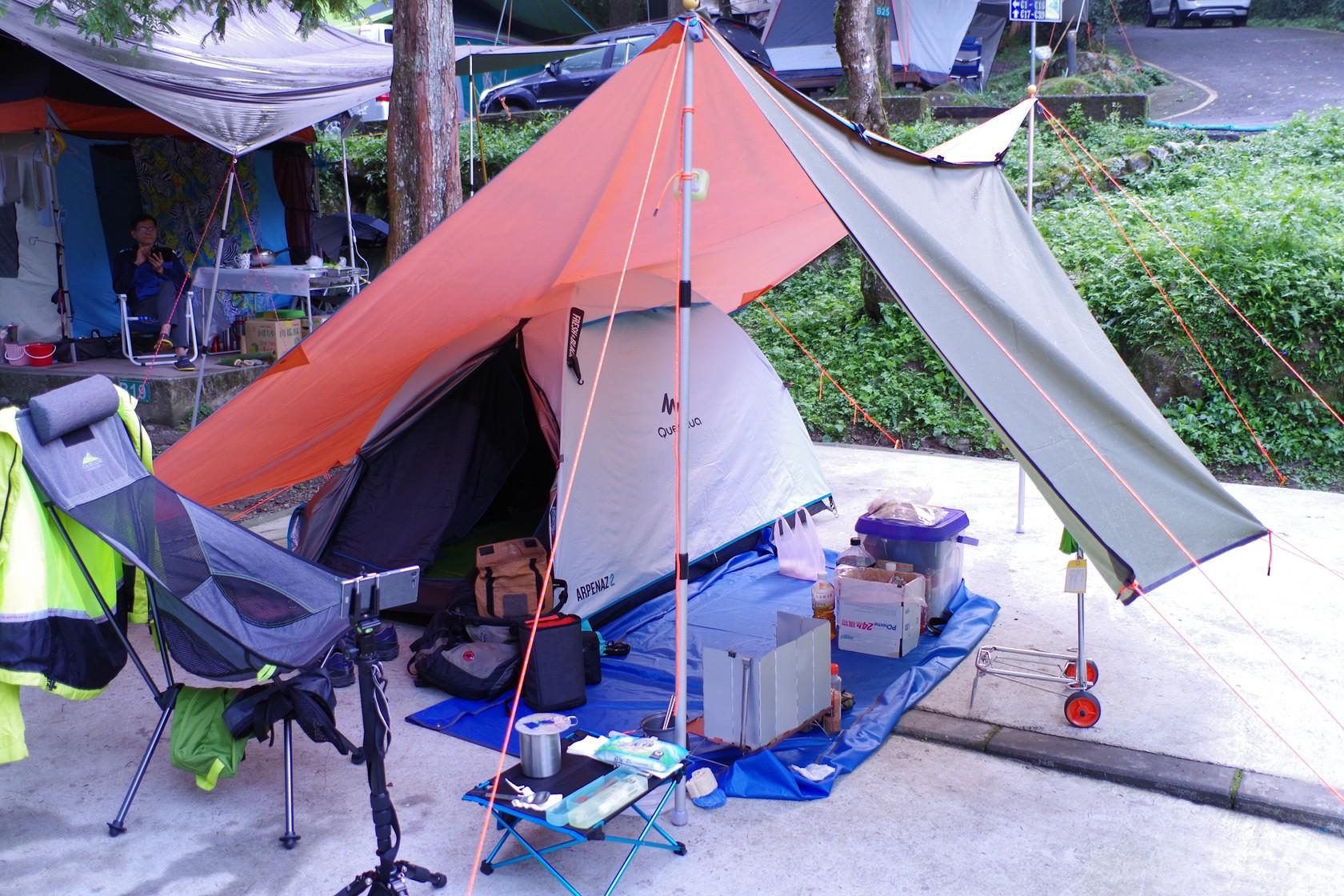 第一次溪頭露營裝備