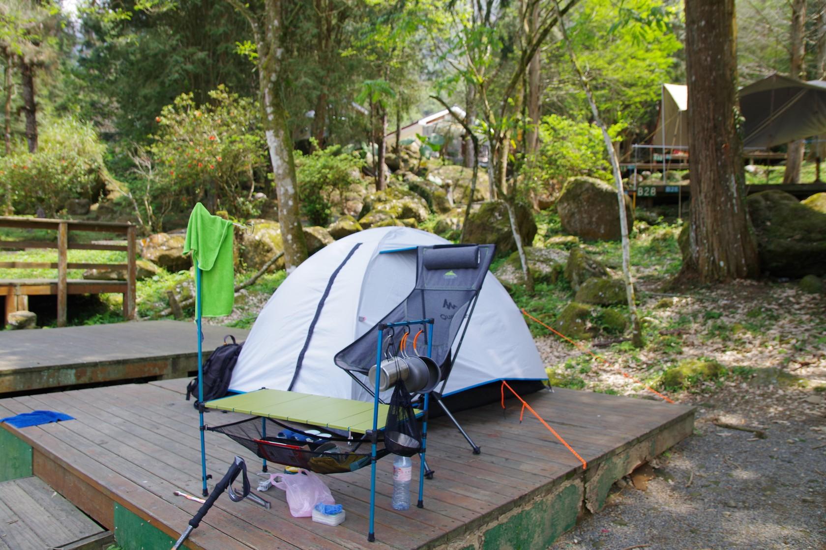 第二次溪頭露營裝備