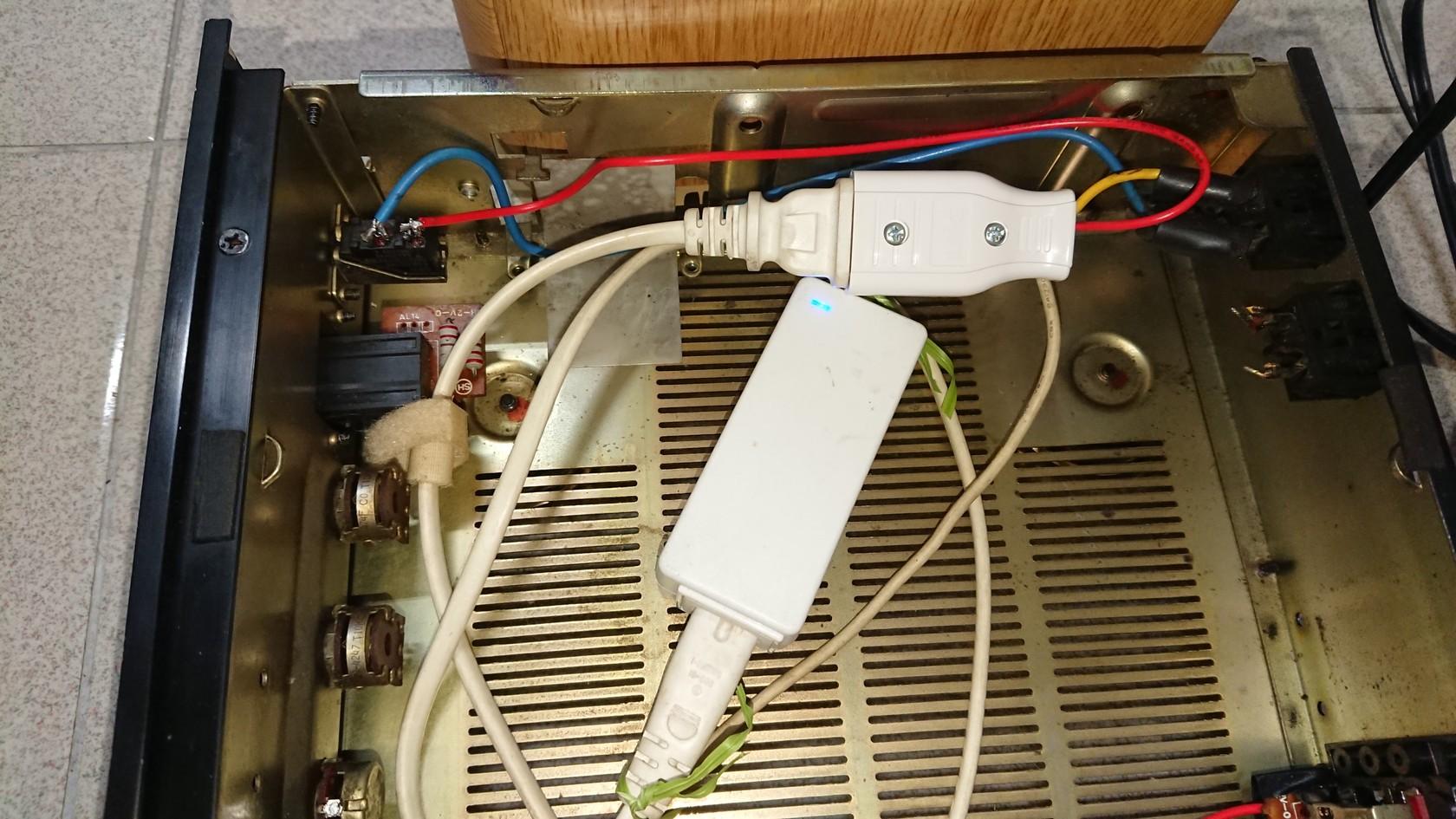 原電源開關與電源供應器結合